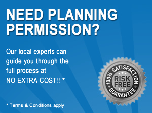 Need Planning Permission? We can help at no Extra Cost